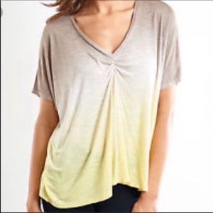 Young, Fabulous and Broke Ombré Tunic Tee